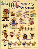 One can never have too many angels in this world, so Linda Gillum has created 101 Folk Art Angels. There's an angel for each month of the year, plus all kinds of pretty angels, angel animals, and even borders of charming angels.