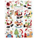 Jolly Santa Ornaments - Chart