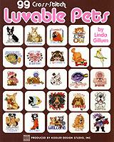 lovable pets in cross stitch
