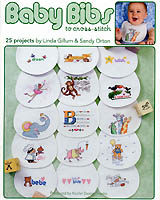 Twenty-five adorable bibs for your little one will add extra fun to mealtime.