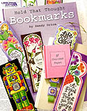 Get in touch with your inner bookworm and cross-stitch these beautiful bookmarks for yourself or special friends and family.