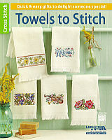 11 quick and easy gifts to delight someone special. Turn a simple hand towel into a delightfully personal piece of décor, for you or for a friend.  This book includes clear charts, keys, general instructions, stitched photos and a lovely monogram alphabet to personalize your projects.