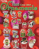 Get into the holiday spirit by stitching these delightful Mini ornament designs by Linda Gillum, Barbara Baatz Hillman and Sandy Orton for yourself or family and friends. Choose from 116 festive designs. There are angels and snowmen and Santas galore, cupcakes and stockings and dozens more.