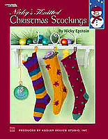 Believe it or not, all eighteen knitted Christmas stockings in this book are made from the same basic pattern. Award-winning designer Nicky Epstein uses yarns of different sizes, weights, and textures to make each stocking unique. Easy, creative embellishments are added to give personality to each stocking.