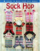 Pamper your feet with warm, cozy, knitted socks in an array of colorful patterns. Inspired by the beautiful wool sweaters created by Ann and Eugene Bourgeois of Philosopher's Wool, Co., author Joseph Madl presents his delightful knitted socks.