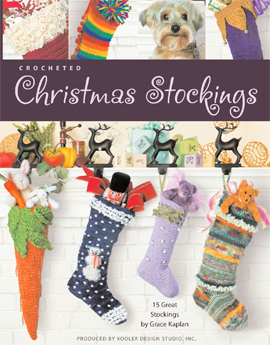 Crochet these delightful Stockings for your loved ones.
