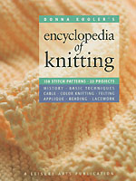 The long-awaited third volume of Donna Kooler's comprehensive guides to handicrafts.  This newest volume explains--in Donna's uniquely clear style--everything you need to know about the art of knitting. It is flying off the shelves in record numbers and is getting rave reviews.
