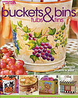 "Put more fun into  ""fun""-ctional as you paint the 16 terrific projects in this book. Designed by 11 talented decorative artists, each project serves a useful purpose while adding both color and style to your home décor."