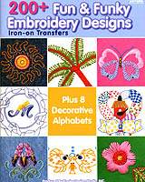 The dozens of original, transfer designs in this book are perfect for embellishing and personalizing your home and wardrobe with colorful embroidery.