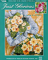 Designer Barbara Baatz Hillman has created two springtime fresh floral designs that can be stitched in either Counted Cross stitch or Needlepoint. You will love the versatility of the classic primrose and cabbage rose designs. Your fabric, count and thread selections will determine the finished size, from an accent pillow to a framed wall hanging.