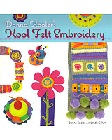 NEW! Donna Kooler and Linda Gillum have put together fantastic, fresh designs for stunning home and fashion accessories to create from felt. What makes these projects so unique are the lovely embellishments, whether they're small felt shapes to embroider or beads, sequins, and other flourishes.