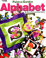 Decorate your home and wardrobe with an alphabet of colorful garden flowers.