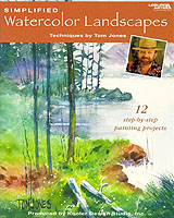 Join master watercolorist Tom Jones in an exciting landscaping adventure as he shares his passion for art and love of nature with painters of all skill levels.  Learn how easy it is to replicate his vivid subject matter of scenic locations from sea to shining sea.