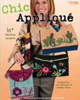 Create over 16 fashionable applique projects, including fun purses, cellphone holders, hip pillows and cozy scarves. Make these easy and fabulous accessories using simple patterns and embroidery stitches and bits of felt, fabric, ribbons, buttons, and beads.