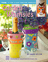 Decorating your garden with amusing whimsical art is easy and fun. Enjoy creating 15 unique projects, using a variety of crafting techniques.