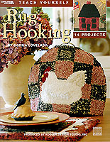 Donna Lovelady's designs, featuring the primitive style of rug hooking, are perfect for anyone who wants to learn this rewarding and time-honored craft. These projects provide plenty of inspiration as well as ideas for adapting them to your own home decor and personal designs.