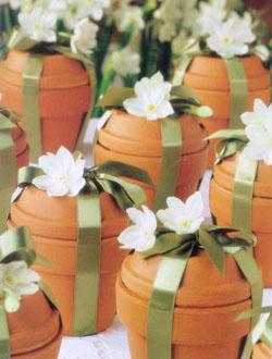 wedding favor flowers