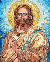 The Son of God, Jesus Christ invites spiritual reflection.