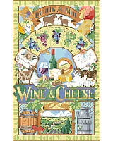 "Wine and Cheese ""Live Long Age Well"" ."