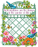 Commemorate the names of all your grandkids with this beautiful garden design.