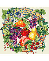 Our Fruit and Berry Wreath is a celebration of the harvest and autumn colors! A thicket of berries is scattered among rich red apples, golden pears, and grapes to welcome the season of thanks. Makes a truly unique gift for Thanksgiving, Halloween, weddings and housewarmings.