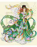 Celtic Angel - PDF: Celebrate your Irish heritage with an enchanting symbol of the Emerald Isle.
