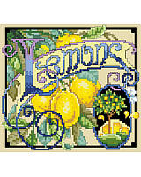 When life gives you lemons, decorate your home with this vibrant citrus-inspired cross stitch art!