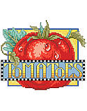 Tomatoes - PDF : Add garden-inspired charm to your décor with this crate label that features bright and juicy tomatoes!