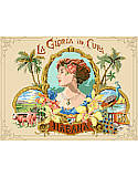 Cigar Box Art - PDF: Vibrant and romantic, capturing the lush beauty of the Caribbean.