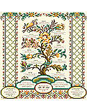 Family Registry - PDF: This heirloom family registry is our most elaborate and detailed family tree design ever created by Kooler Design. It includes all family members for four generations. A perfectly personalized family tree will be cherished.
