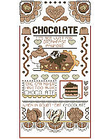 Add a sweet touch to your home décor with this delicious sampler!