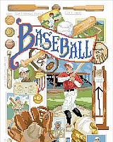 America's favorite pastime is perfectly illustrated in cross stitch by artist Linda Gillum. Linda has captured the smell of popcorn and the roar of the crowd while tracing the history of baseball in a visually compelling way. This is a classic and nostalgic design for sports fans of all ages.