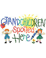 Grandchildren Spoiled Here! Just a reminder that Grandma and Grandpa have lots of love to share along with such goodies as cookies, cakes, etc.