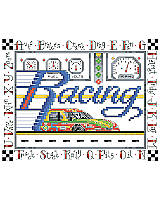 A quick project to do for that race car fan in your family.