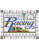 ABC's of Racing - PDF: A quick project to do for that race car fan in your family.
