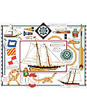 Nautical Sampler - PDF: Add this nautical piece to your wall décor at your seaside home or cabin.