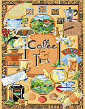 Coffee and Tea Sampler - PDF: A display of many exciting and colorful pictures of coffee and teas.