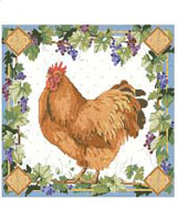Our classic country French hen is lovely.