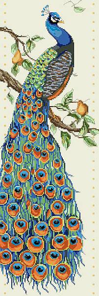 Kooler Design Studio Peacock Chart