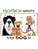 Home Is Where The Dog Is - PDF: These five whimsical pups are waiting to welcome you home!