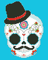For centuries, people have honored the lives of those who came before them with colorful and bright sugar skulls during Day of the Dead celebrations in Latin America.