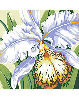 Elegant and subtly exotic, this beautiful cross stitch orchid infuses a sense of luxury to your decor. Makes a great gift for the gardener in your family. Surprise them for their birthday, Mother's Day or simply to celebrate spring.
