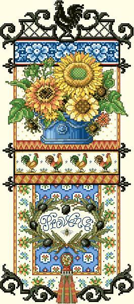Kooler Design Studio Provence Sunflower Sampler Pdf
