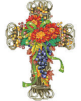 Add natural beauty and faithful feel to your décor with this fall-inspired piece.