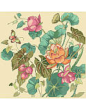 Lotus Flower - PDF: BBlooming with fresh and elegant design and Eastern-inspired details, this exquisite cross stitch piece instantly transforms your décor. This modern yet classic Asian influenced lotus flowers, buds and leaves are unusual for cross stitch and one of our favorites.