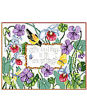 "The Best Things - PDF: What better way to tell a story of what's important in life than with this cheerful cross stitch. This beautiful floral design with a sentiment that reads, ""The best things in life aren't things,"" reminds us all that material objects aren't worth more than family, friends, love, and even a little sunshine."