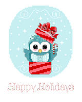 Whoooo doesn't love the holidays? We sure do, so we created new adorable owl designs for you!