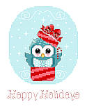 Happy Holidays - PDF: Whoooo doesn't love the holidays? We sure do, so we created new adorable owl designs for you!