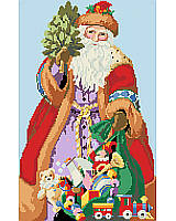Santa is delivering toys to good boys and girls!