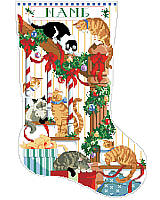 Have a Meowy Christmas this year! Holidays are simply more fun with cute cats and cuddly kittens!